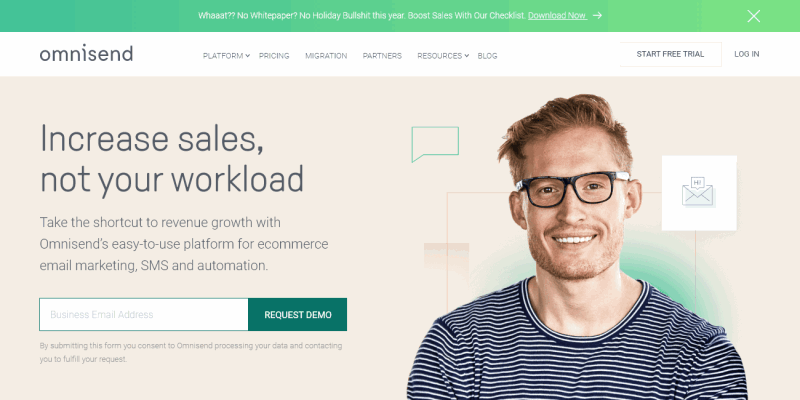 Omnisend | Ecommerce Marketing Automation