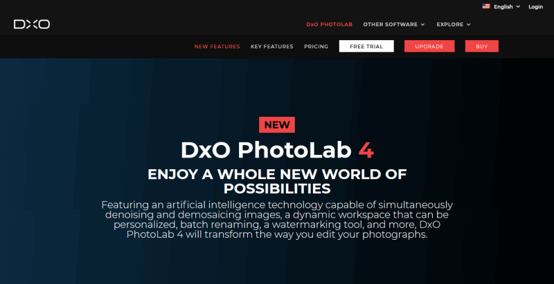 DxO PhotoLab 4 New Features