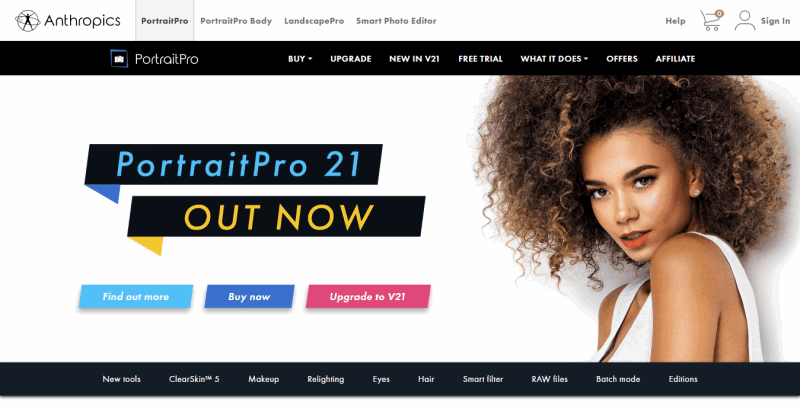 PortraitPro Easy Photo Editing Software