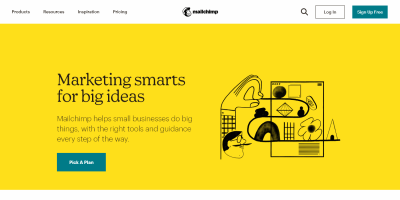 All-In-One Integrated Marketing Platform for Small Business | Mailchimp