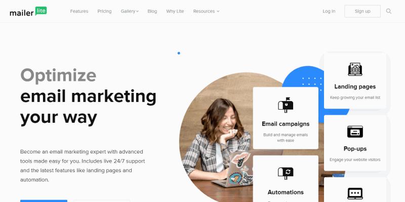 Create Email Marketing Your Way - MailerLite