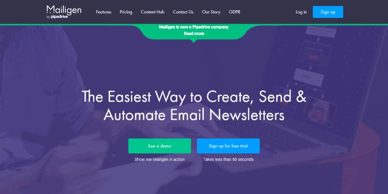 Mailigen: Email Marketing Software