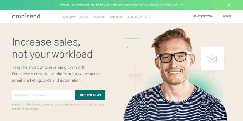 Omnisend | Ecommerce Marketing Automation