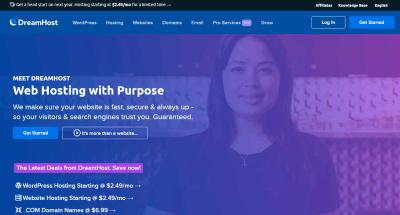 dreamhost web hosting