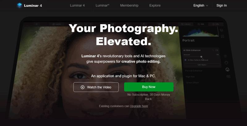 Cutting edge Photo Editor for Mac PC Skylum