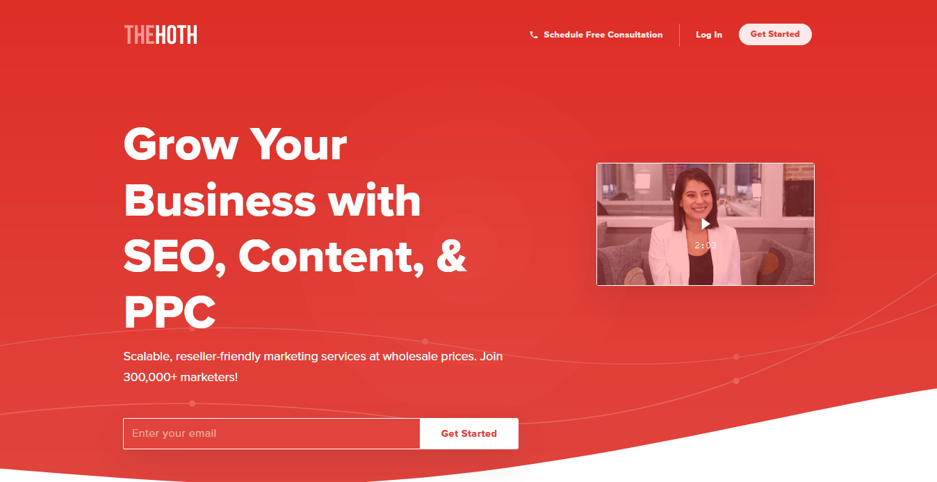 The HOTH Grow Your Business With SEO, Content, PPC