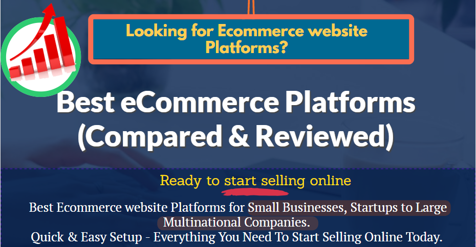 best ecommerce platforms (Easy Step by Step Guide)