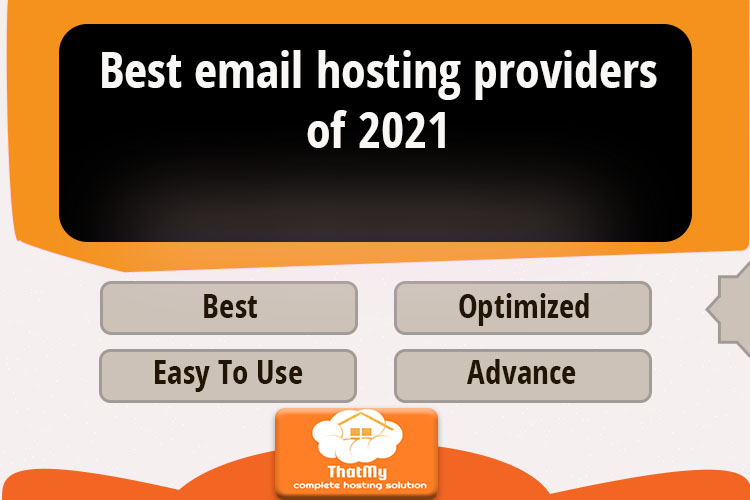 Best email hosting providers of 2021