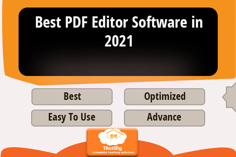 Best PDF Editor Software in 2021