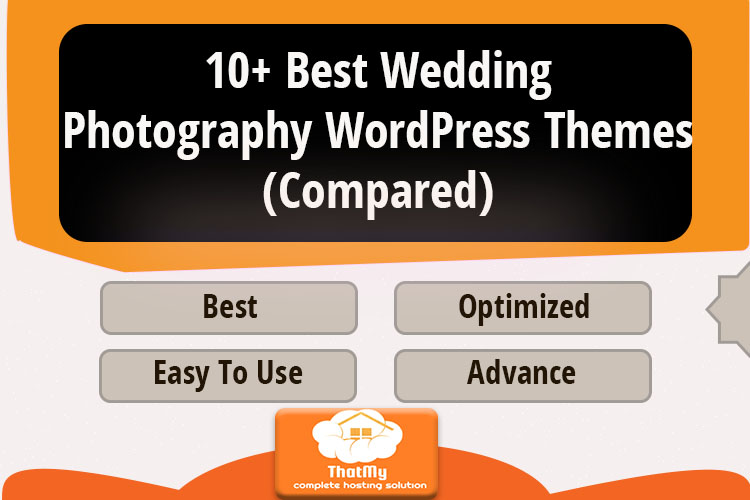 10+ Best Wedding Photography WordPress Themes (Compared)