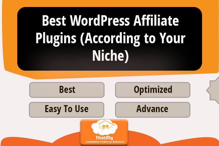 Best WordPress Affiliate Plugins (According to Your Niche)