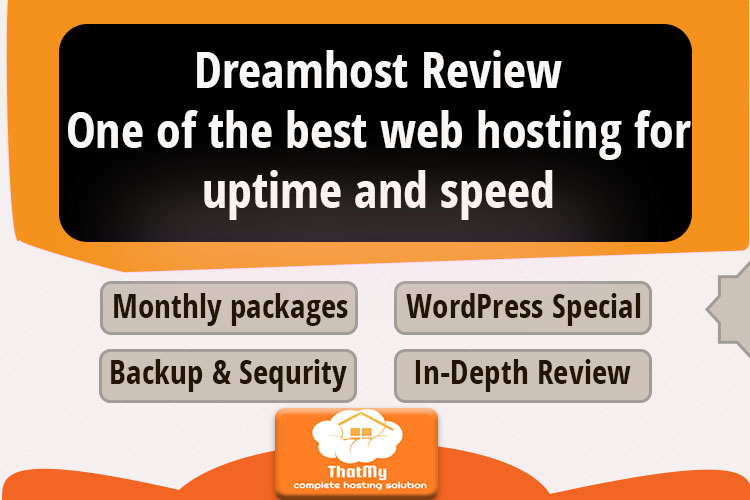 Dreamhost Review One of the best web hosting for uptime and speed
