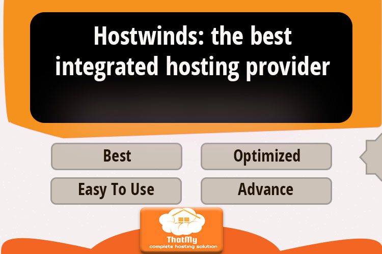 Hostwinds: the best integrated hosting provider