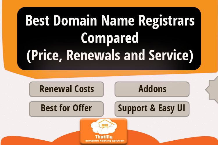 Best Domain Name Registrars Compared (Price, Renewals, and Service)