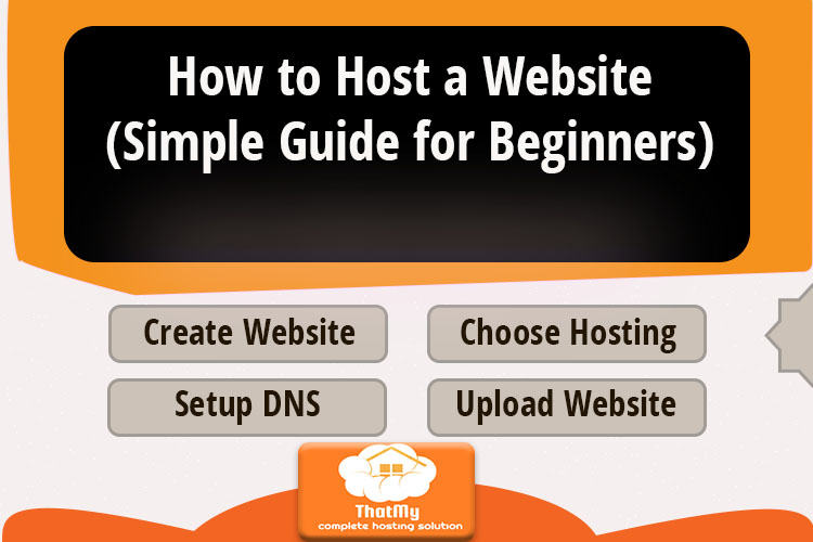 How to Host a Website (Simple Guide for Beginners)