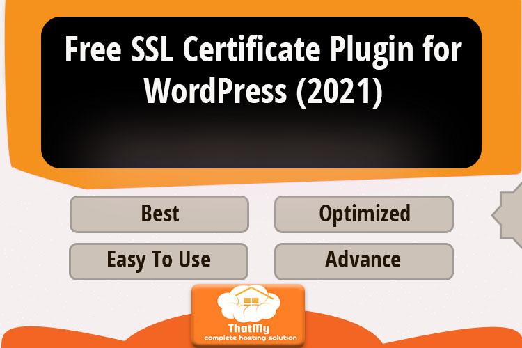 Free SSL Certificate Plugin for WordPress