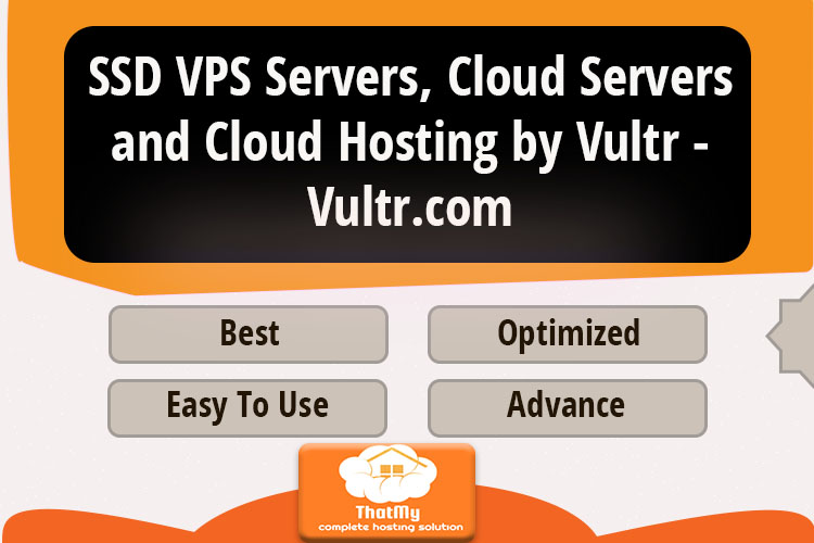SSD VPS Servers, Cloud Servers and Cloud Hosting by Vultr - Vultr.com