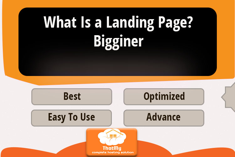What Is a Landing Page? Bigginer