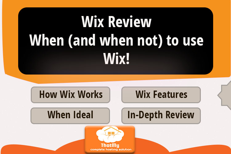 Wix Review When (and when not) to use Wix!